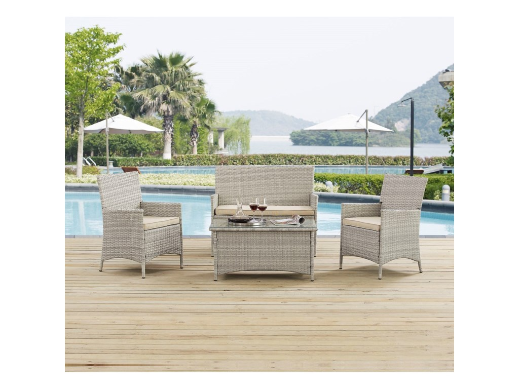 Modway BridgePatio Conversation Set