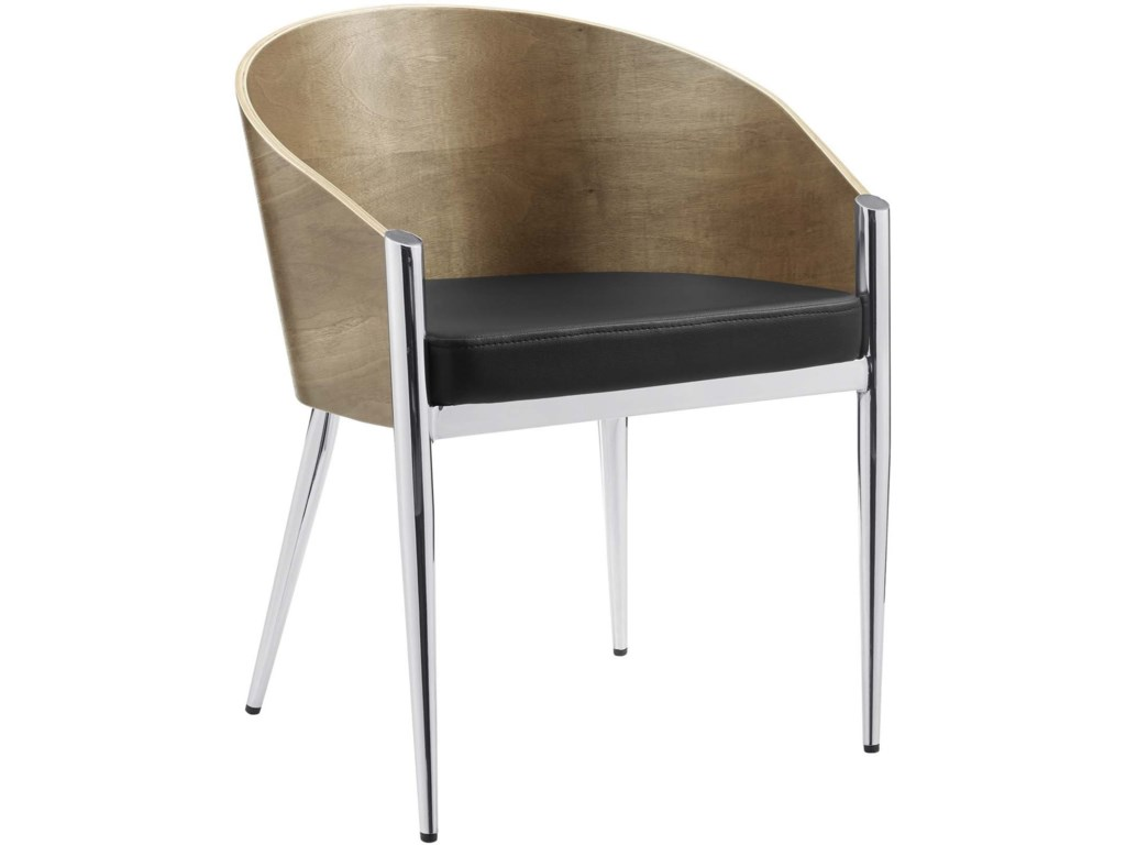 Modway CooperDining Wood Armchair