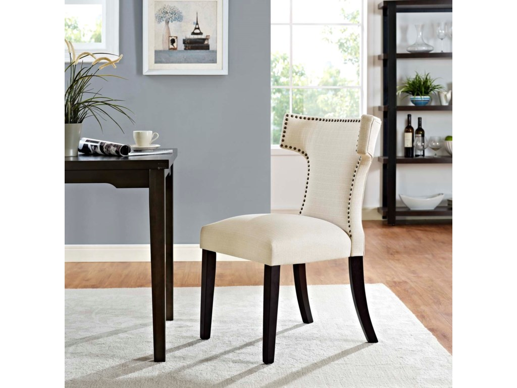Modway CurveFabric Dining Chair
