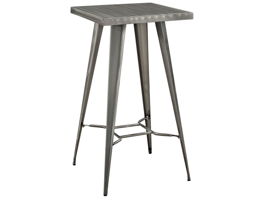 Modway DirectDirect Metal Bar Table