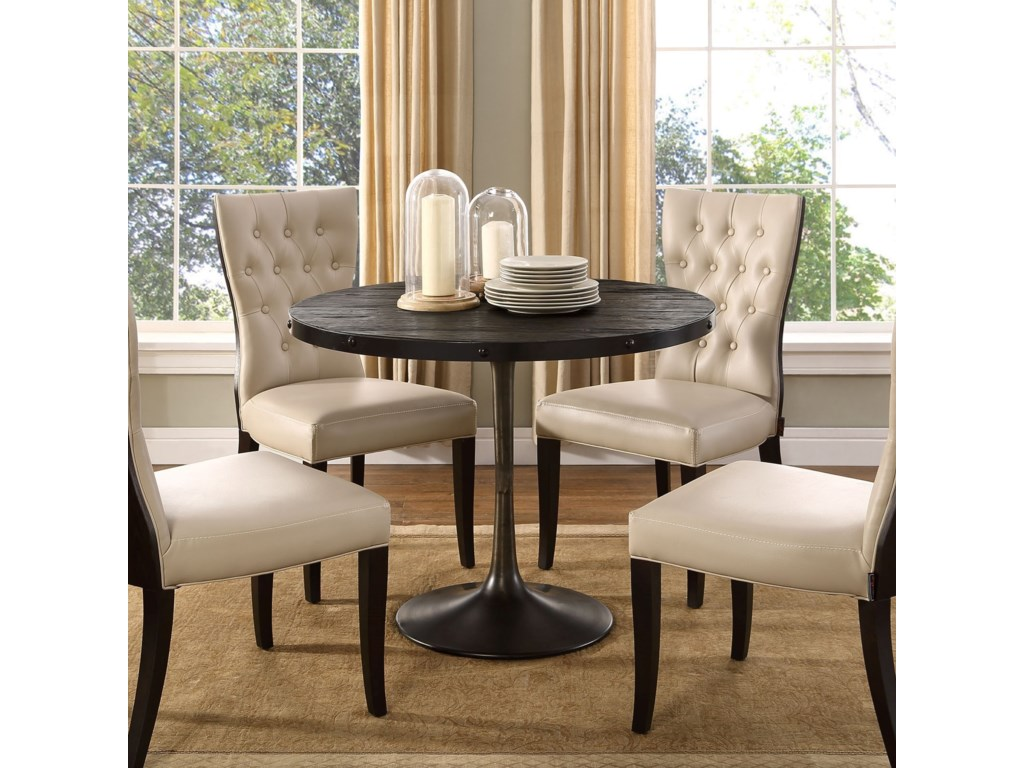 Modway DriveRound Dining Table
