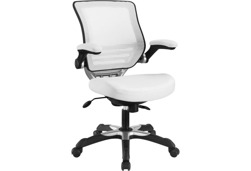 Modway Edge Vinyl Office Chair Value