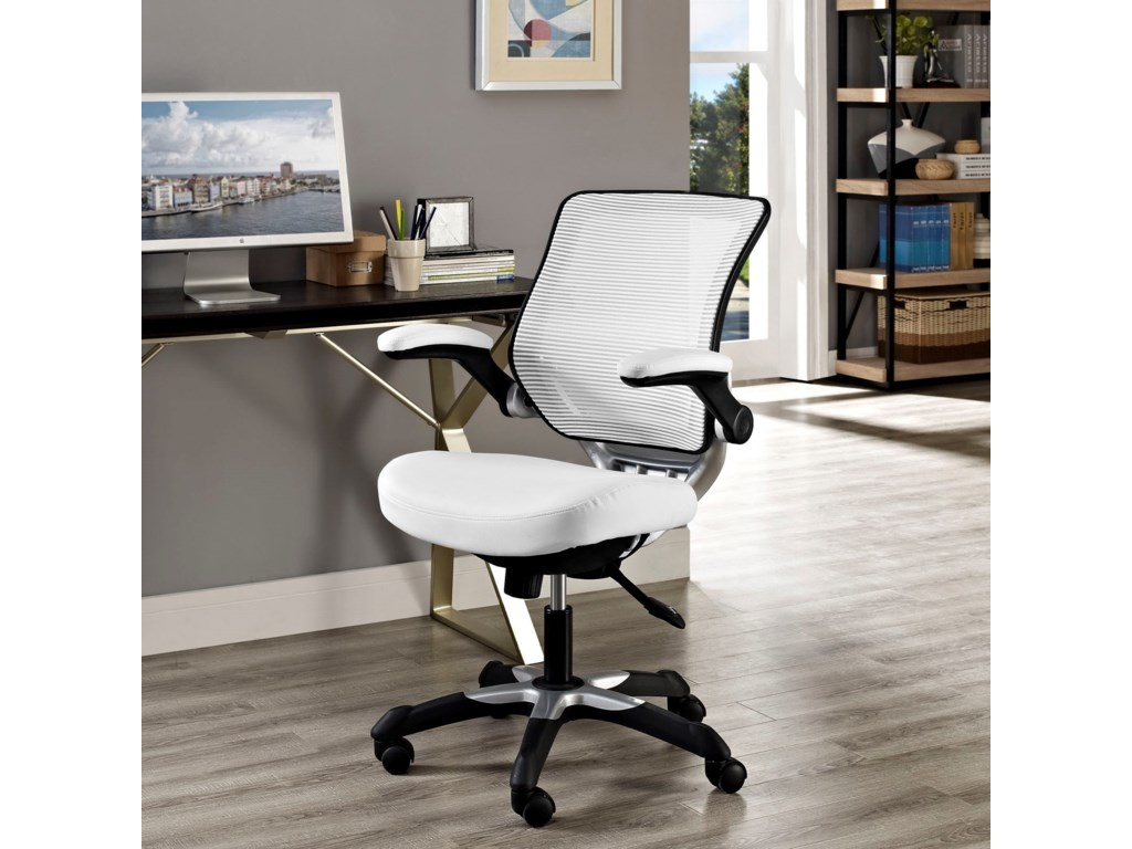 Modway EdgeVinyl Office Chair