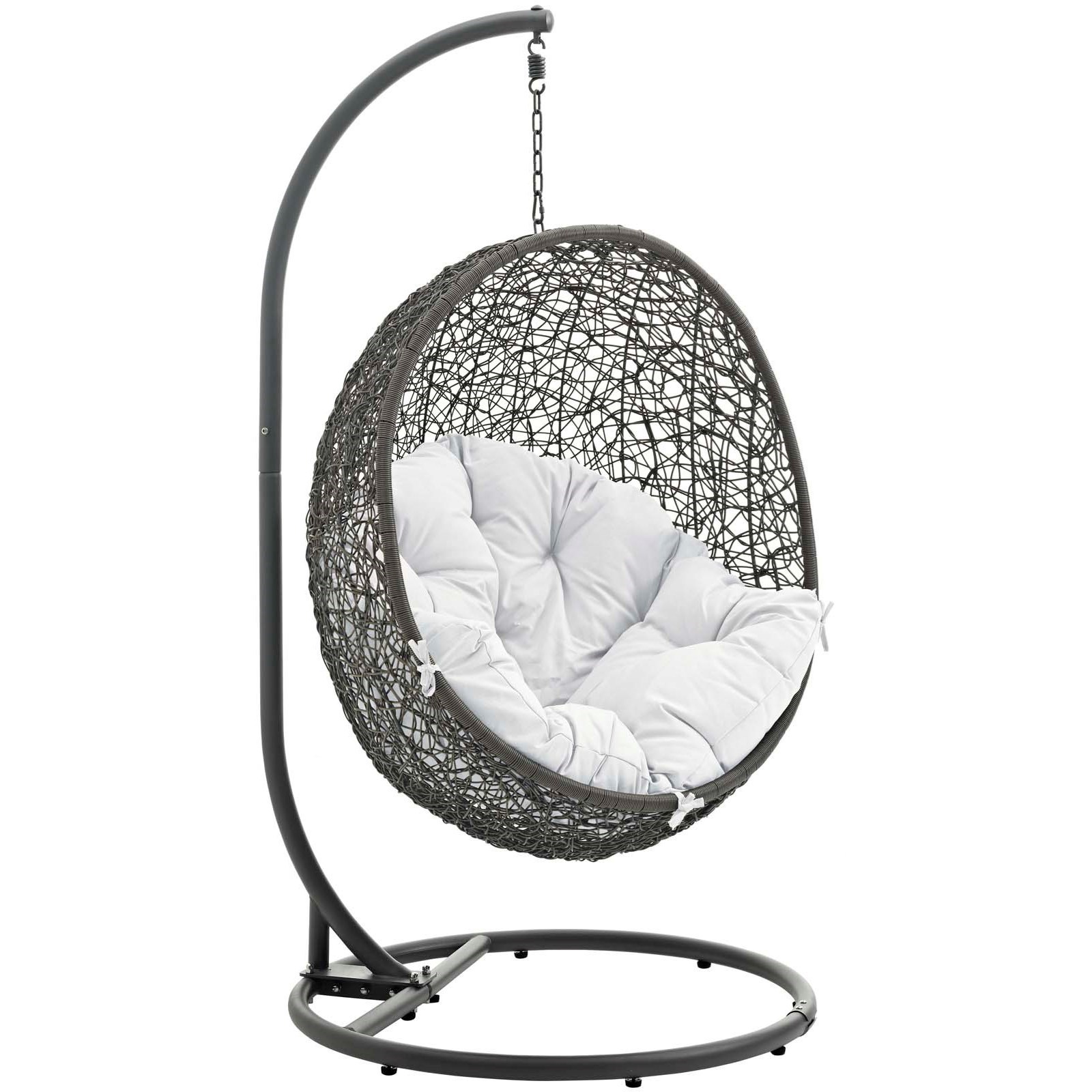 Hide Outdoor Patio Swing Chair With Stand by Modway  sc 1 st  Value City NJ Furniture & Modway Hide Outdoor Patio Swing Chair With Stand | Value City ...