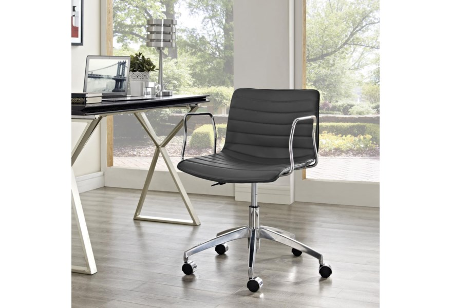 Modway Home Office Celerity Office Chair In Gray Value City Furniture Office Task Chairs