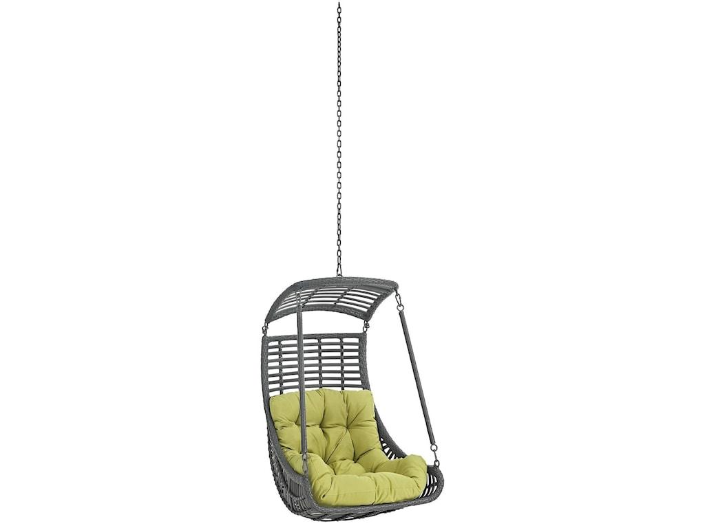 Modway JungleOutdoor Patio Swing Chair