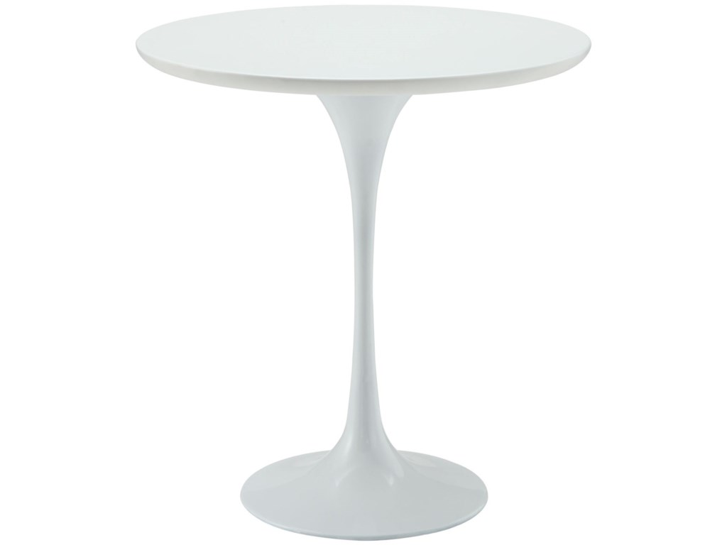 Modway Lippa WhiteRound Side Table