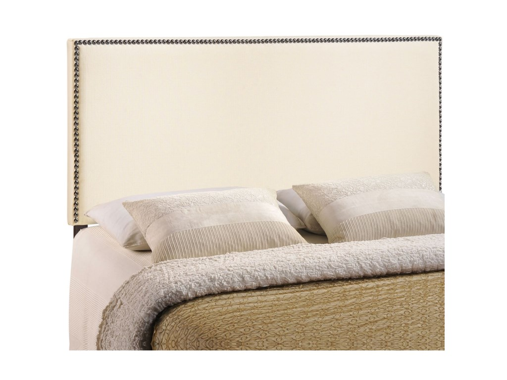 Modway RegionFull Nailhead Upholstered Headboard