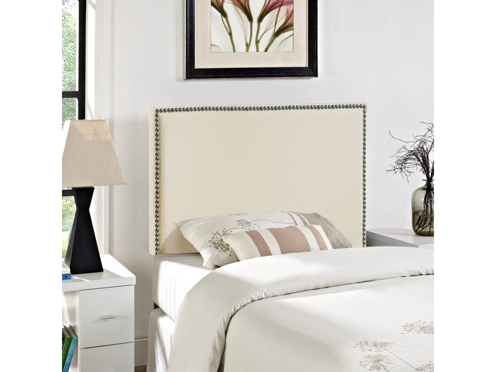 Modway RegionTwin Nailhead Upholstered Headboard