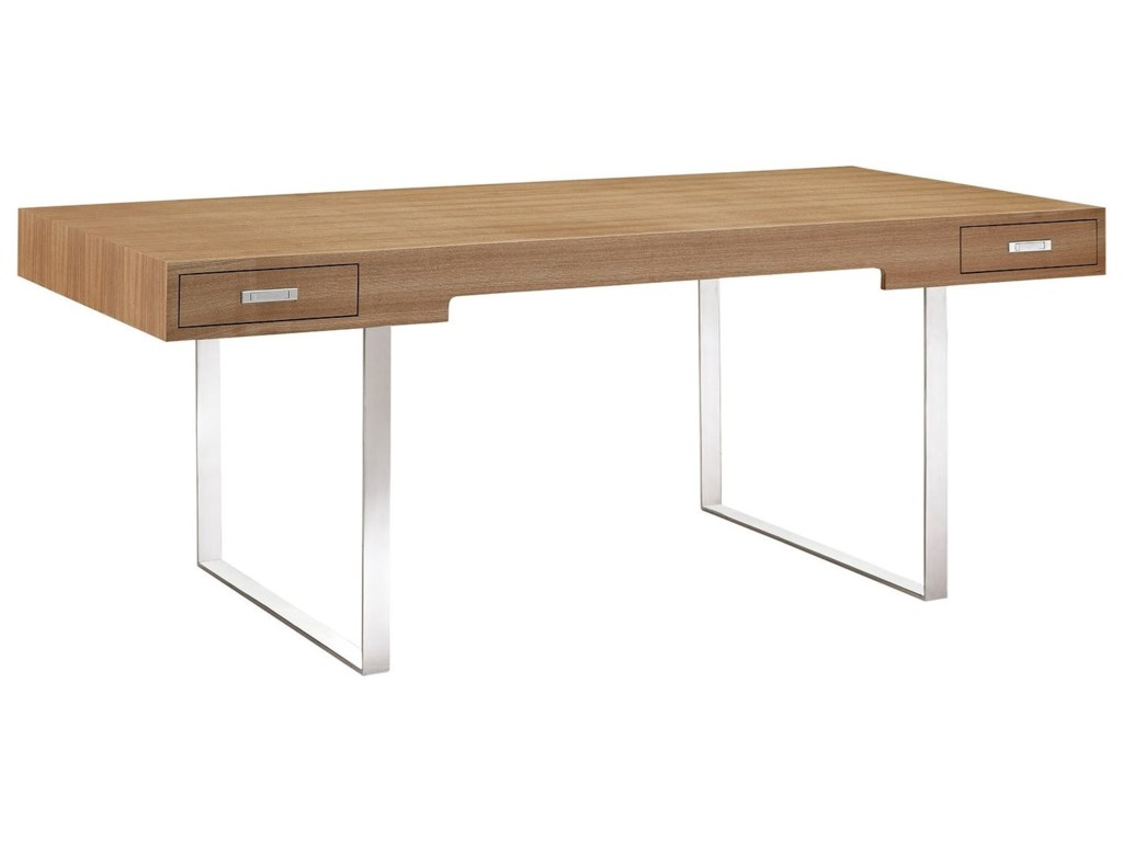 Tinker Modern Office Desk With Drawers By Modway
