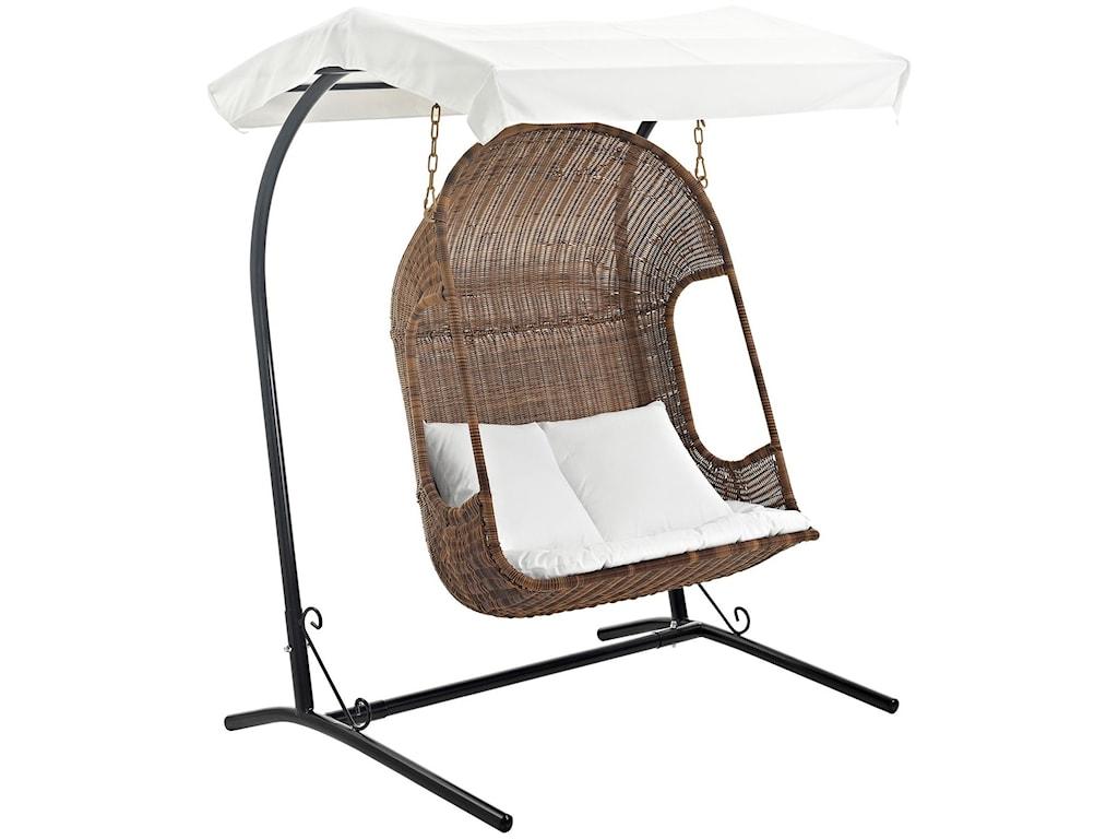Modway VantageOutdoor Patio Swing Chair ... - Modway Vantage Outdoor Patio Swing Chair With Stand Value City