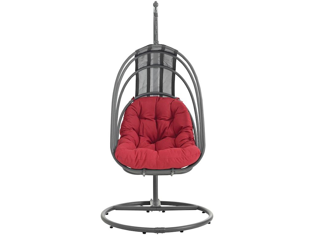 Modway WhiskOutdoor Patio Swing Chair
