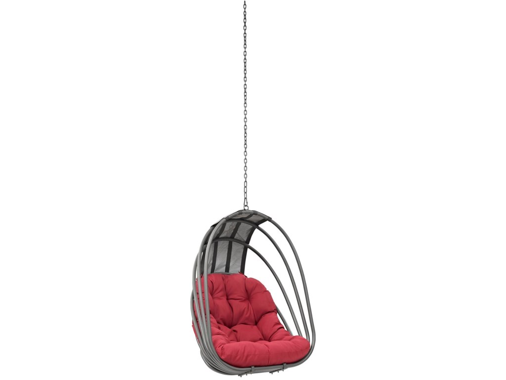 Modway WhiskOutdoor Patio Swing Chair