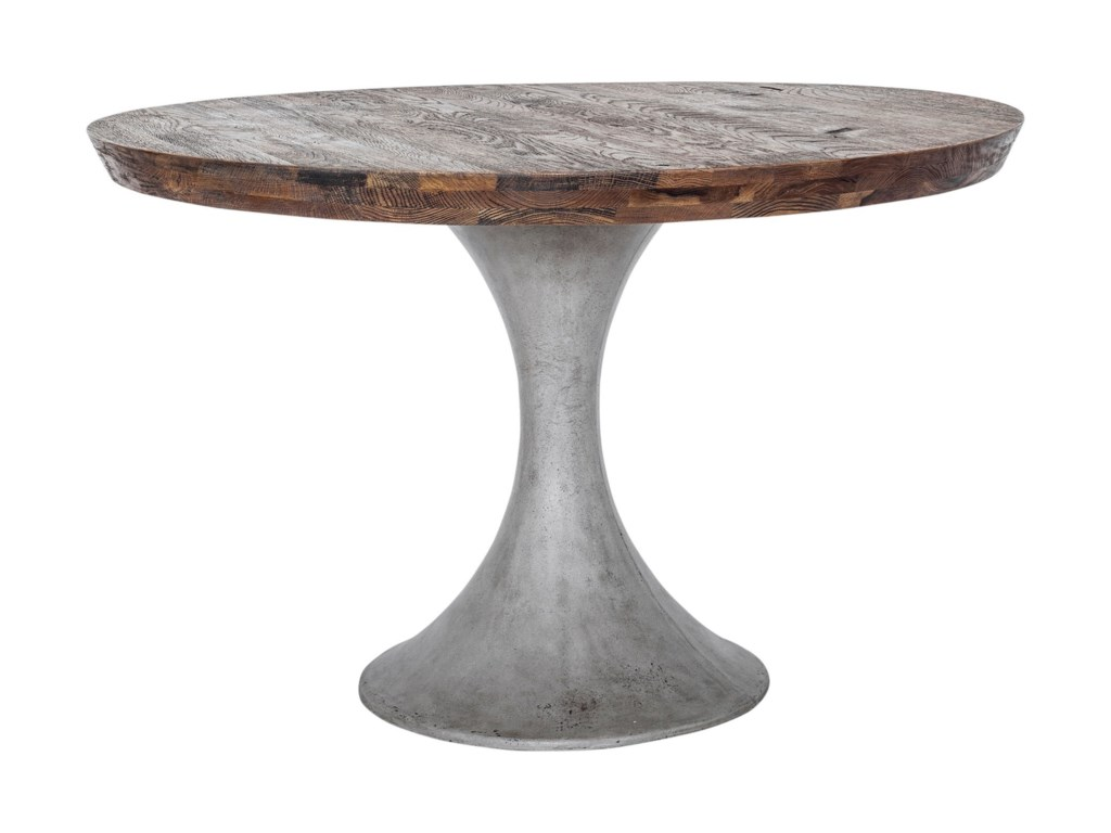 Moe's Home Collection AaronRound Concrete Base Dining Table
