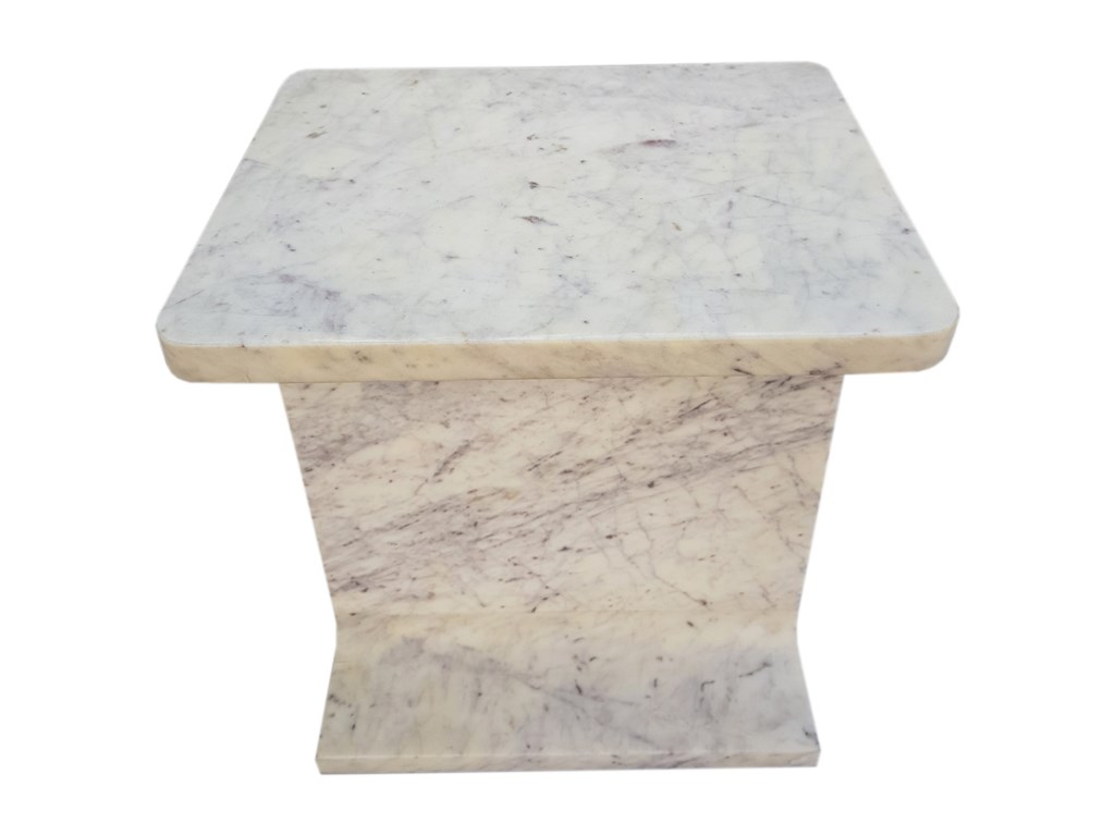 Moe's Home Collection AbacusWhite Marble Accent Table