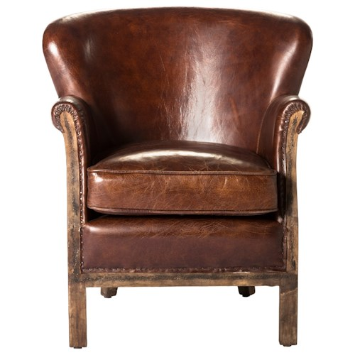Moe's Home Collection Abbey  Club Chair - Brown