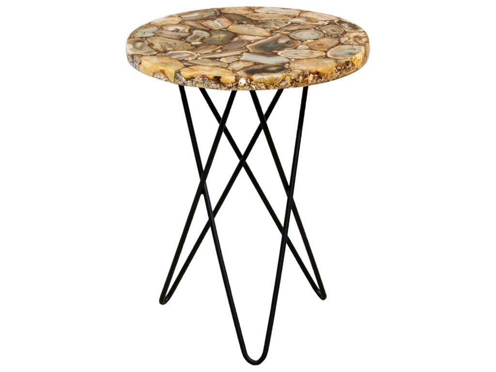Moe's Home Collection Accent TablesNatura Agate Accent Table