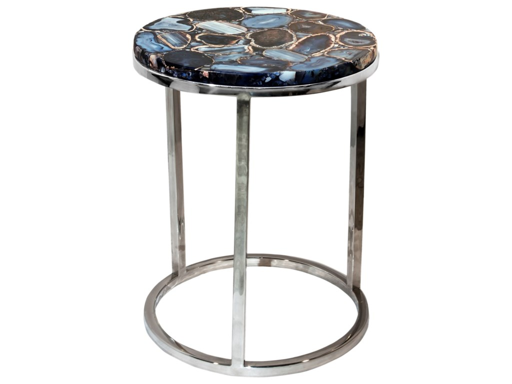 Moe's Home Collection Accent TablesShimmer Agate Accent Table