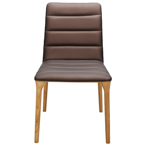 Moe's Home Collection Adrian  Dining Chair Brown-M2