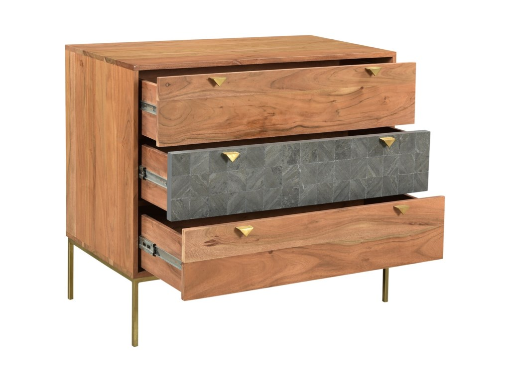 Moe's Home Collection Alessio3-Drawer Chest
