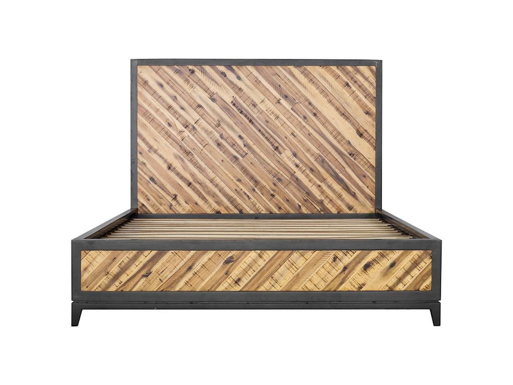 Moe's Home Collection AlmadaQueen Acacia Platform Bed