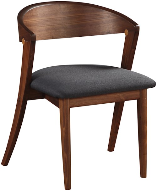 Moe's Home Collection Amara  Dining Chair Black - M2