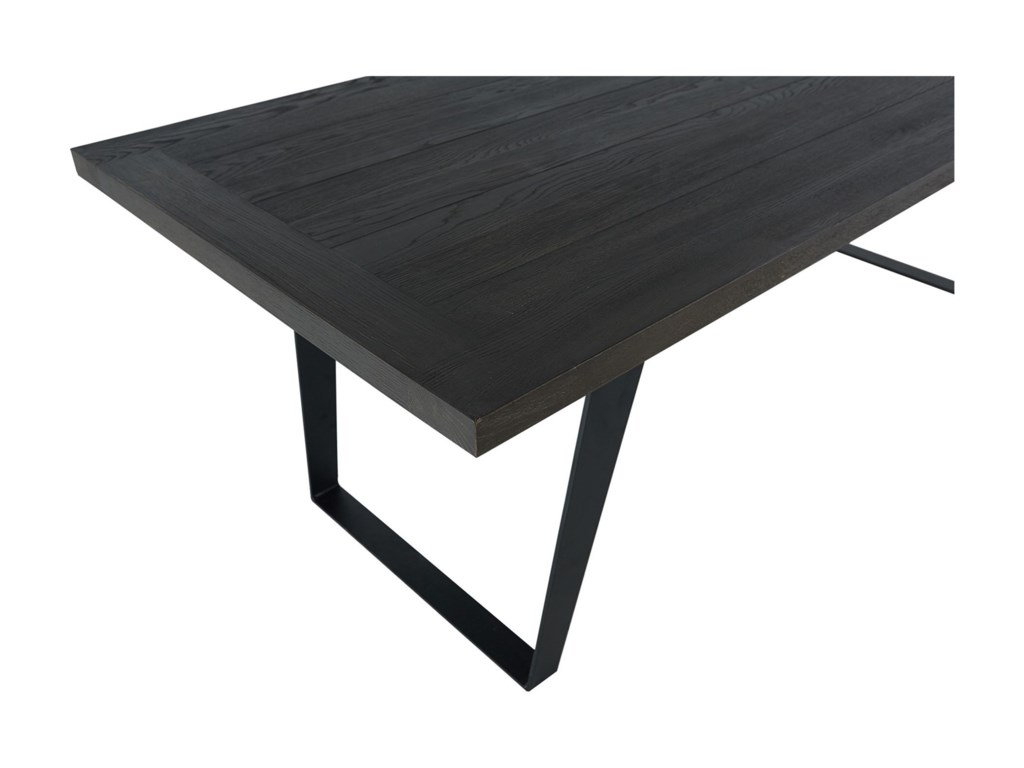 Moe's Home Collection AmschelIndustrial Solid Oak Dining Table