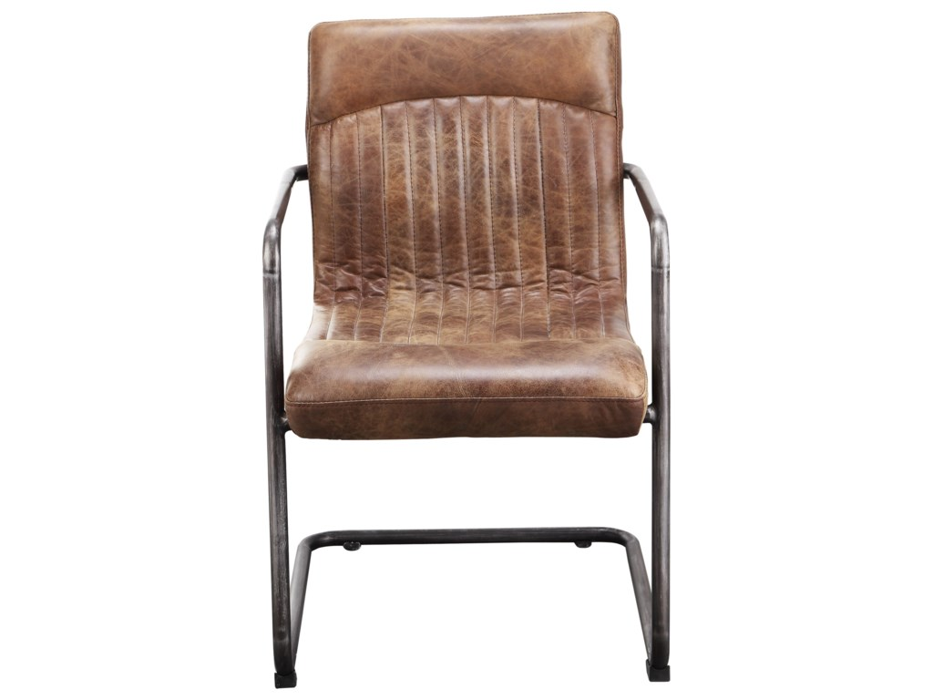 Moe's Home Collection Ansel Arm Chair - Light Brown - M2