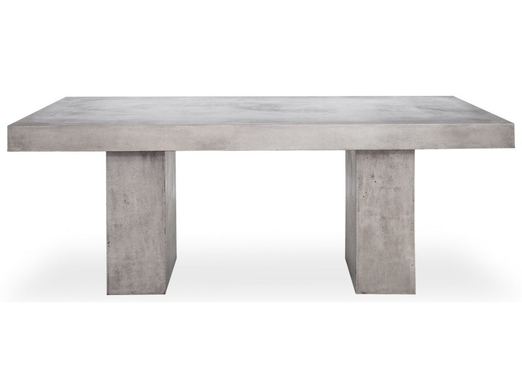 Moe's Home Collection AntoniusNatural Concrete Outdoor Dining Table