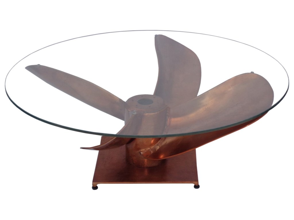 Moe's Home Collection ArchimedesIndustrial Fan Coffee Table
