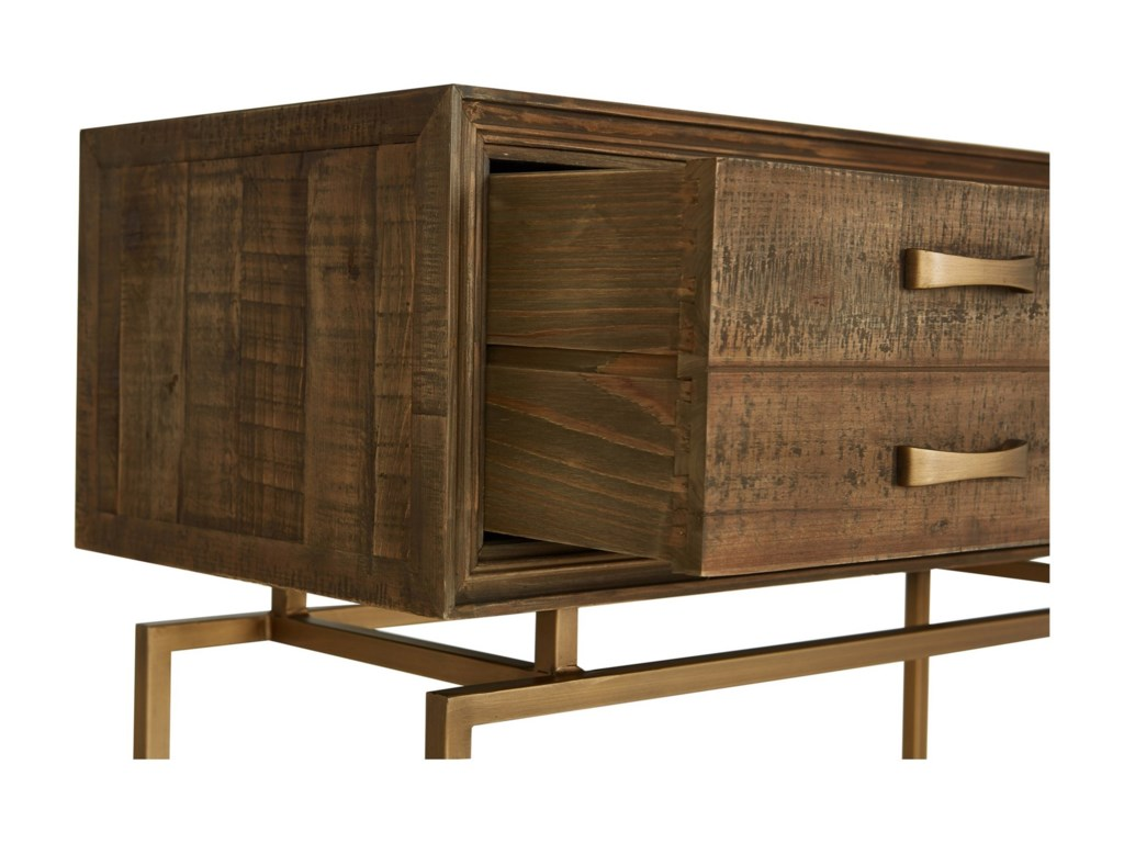 Moe's Home Collection AristocratReclaimed Wood Console Table