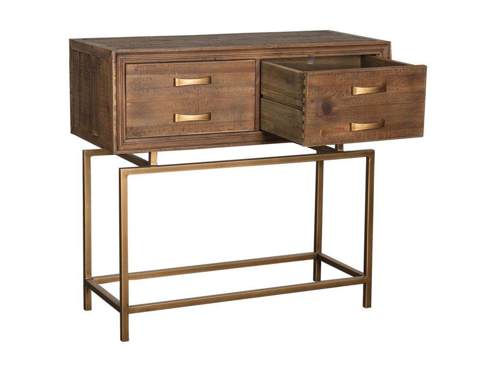 Moe's Home Collection AristocratSmall Reclaimed Wood Console Table