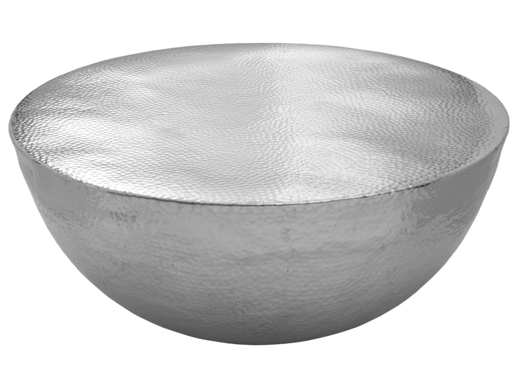 Moe's Home Collection AshikoAluminum Drum Coffee Table