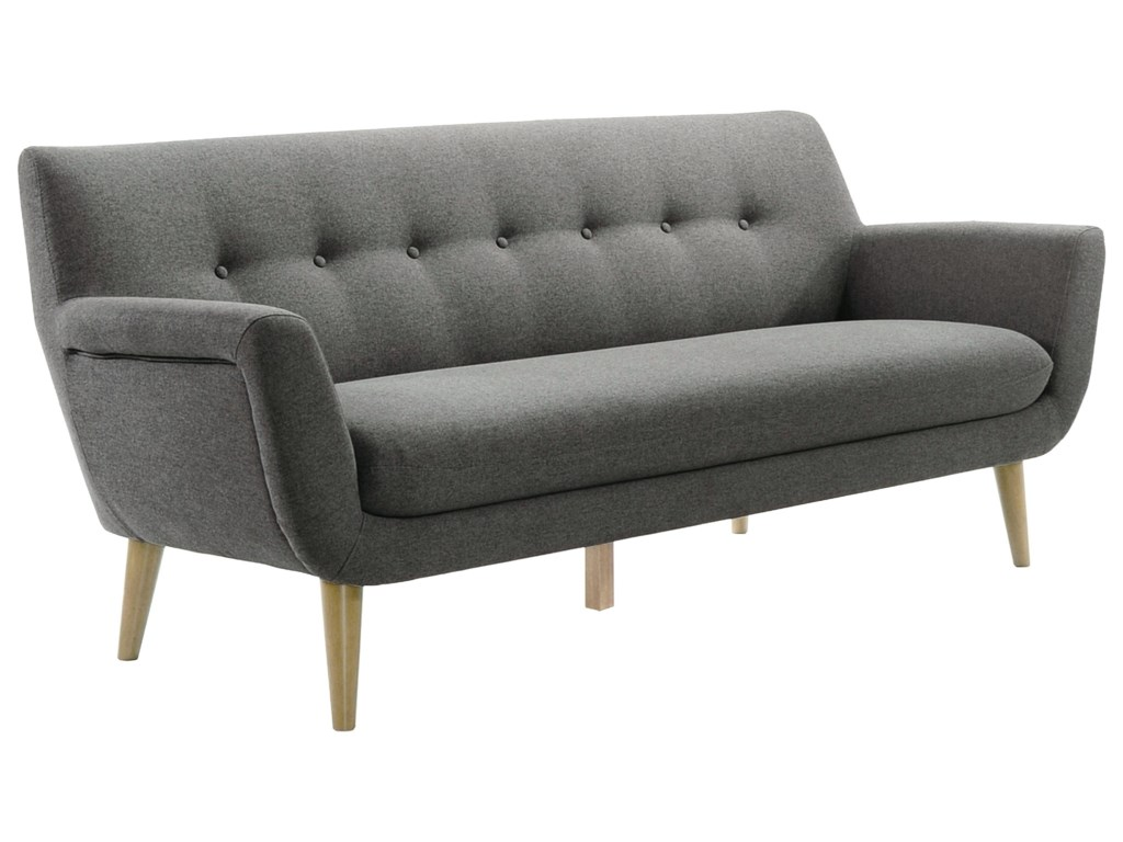 Moe's Home Collection AubreyMid-Century Modern Sofa