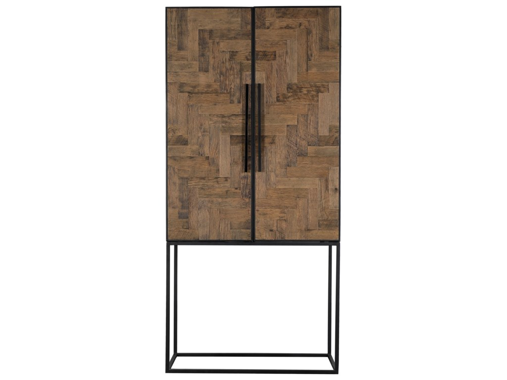 Moe's Home Collection BabylonOak Herringbone Cabinet