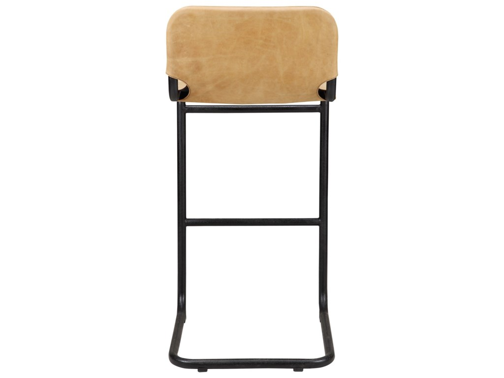Moe's Home Collection BakerLeather Bar Stool