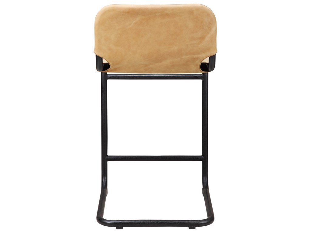 Moe's Home Collection BakerLeather Counter Stool