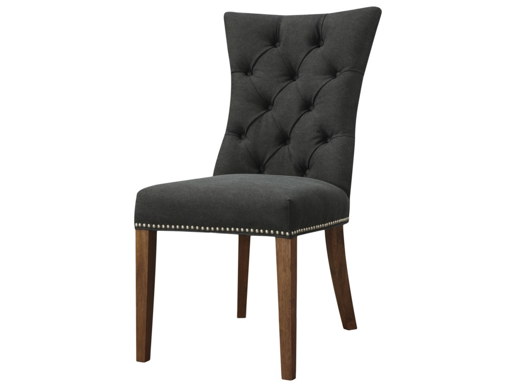 Moe's Home Collection Barclay Side Chair Black