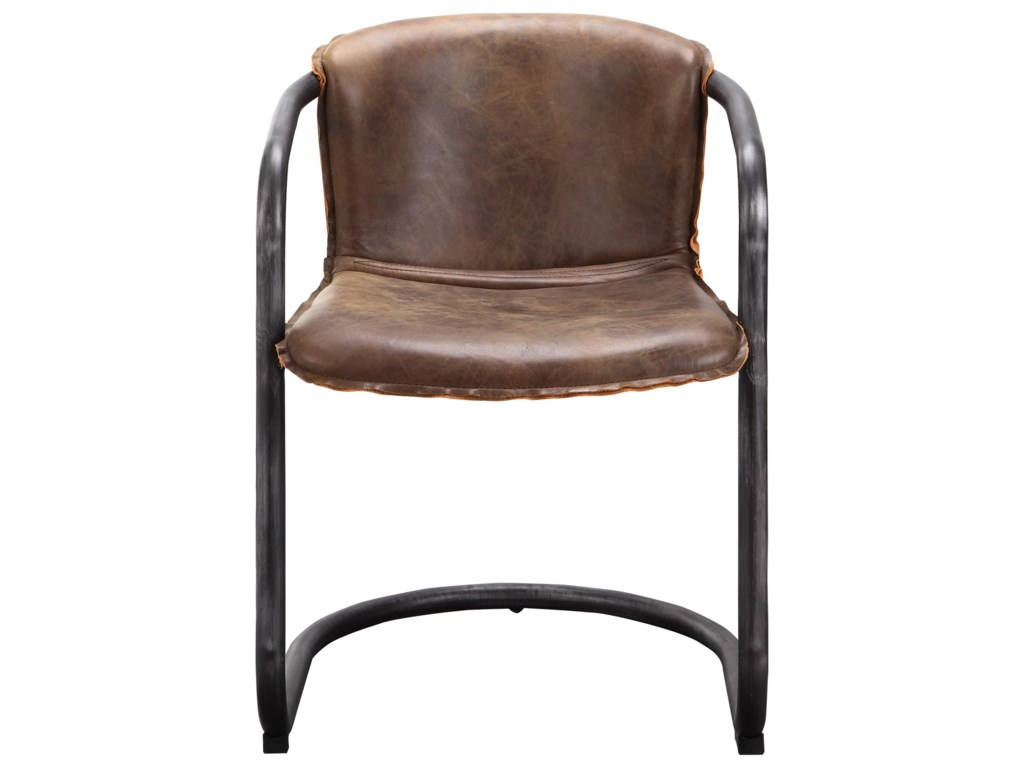 Moe's Home Collection Benedict Dining Chair - Light Brown