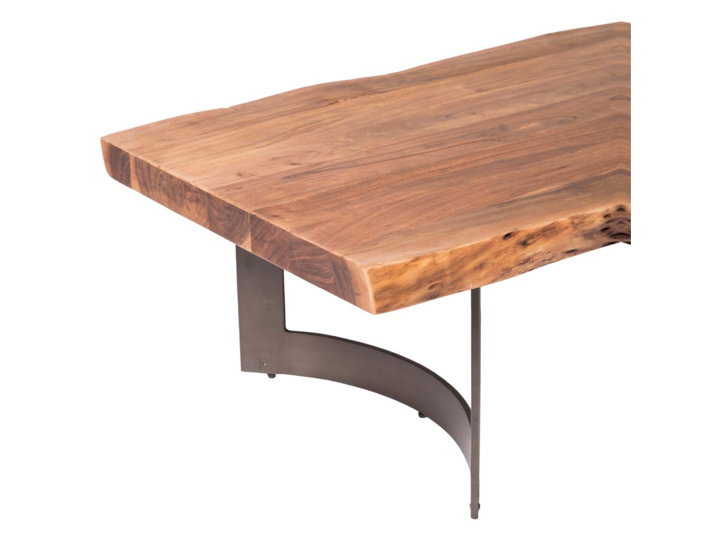 Moe's Home Collection Bent Coffee Table Smoked