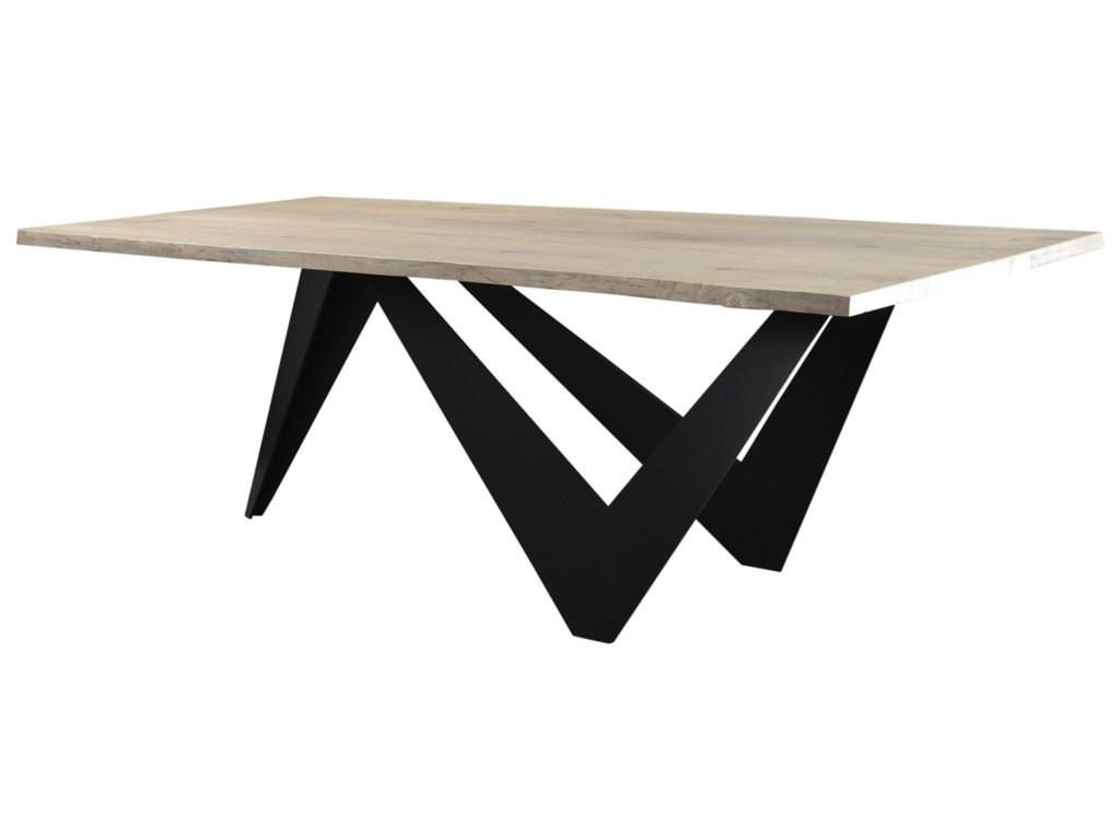 Moe's Home Collection BirdLive Edge Dining Table