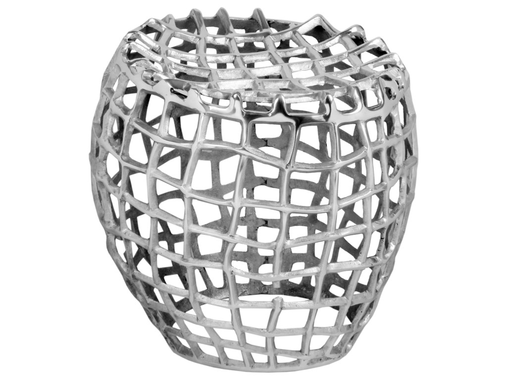 Moe's Home Collection BirdcageSilver Stool