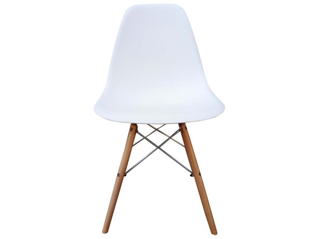Moe's Home Collection BlizzardWhite Dining Chair