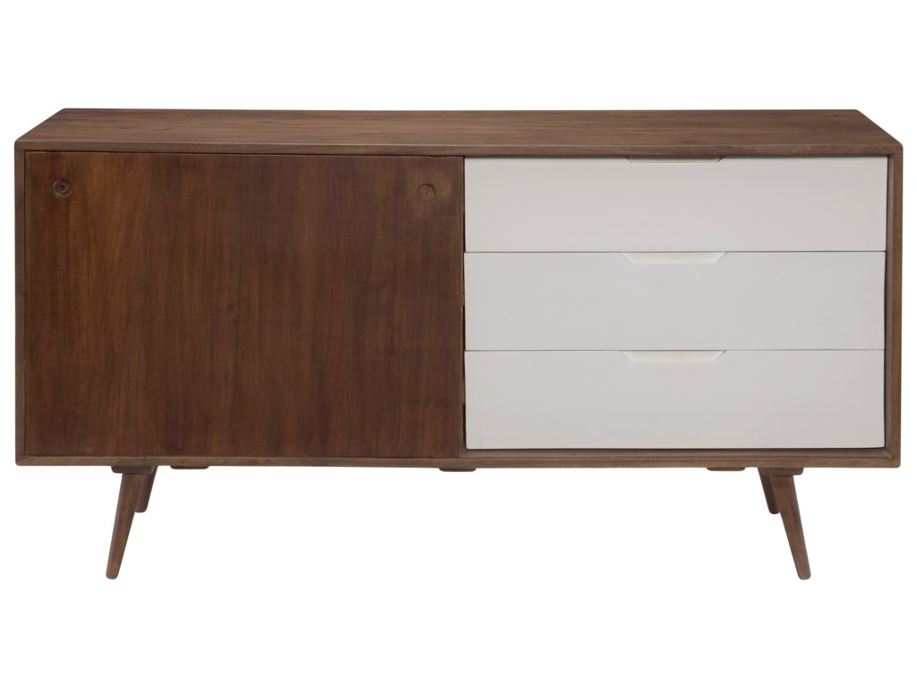 Moe's Home Collection BlossomSideboard with 3 Drawers
