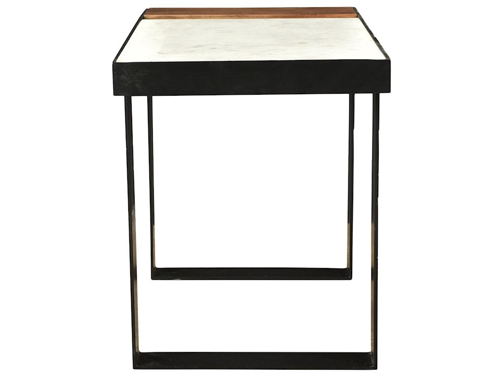 Moe's Home Collection BloxBanswara Marble Side Table