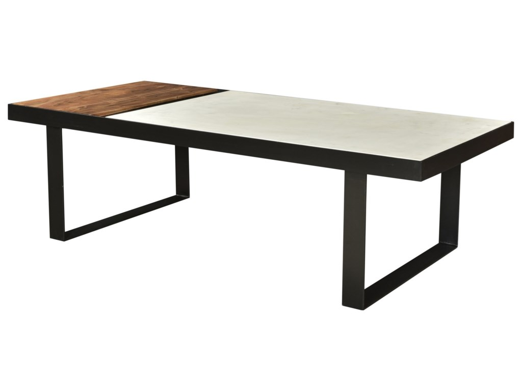 Moe's Home Collection BloxBanswara Marble Coffee Table