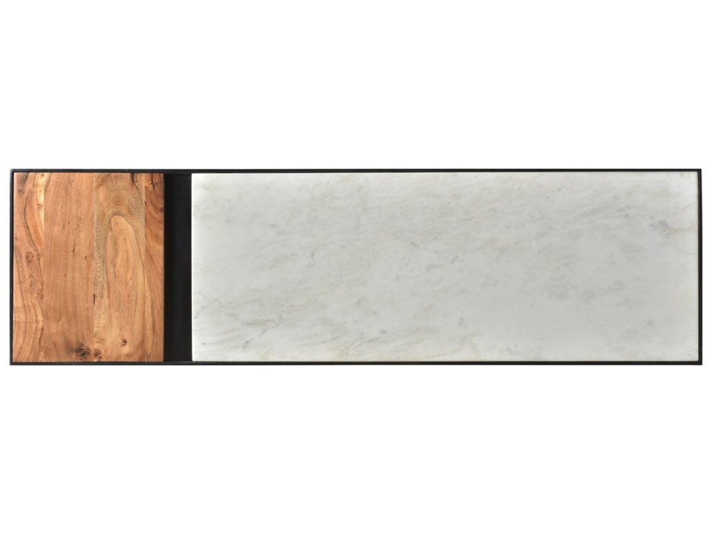 Moe's Home Collection BloxBanswara Marble Console Table