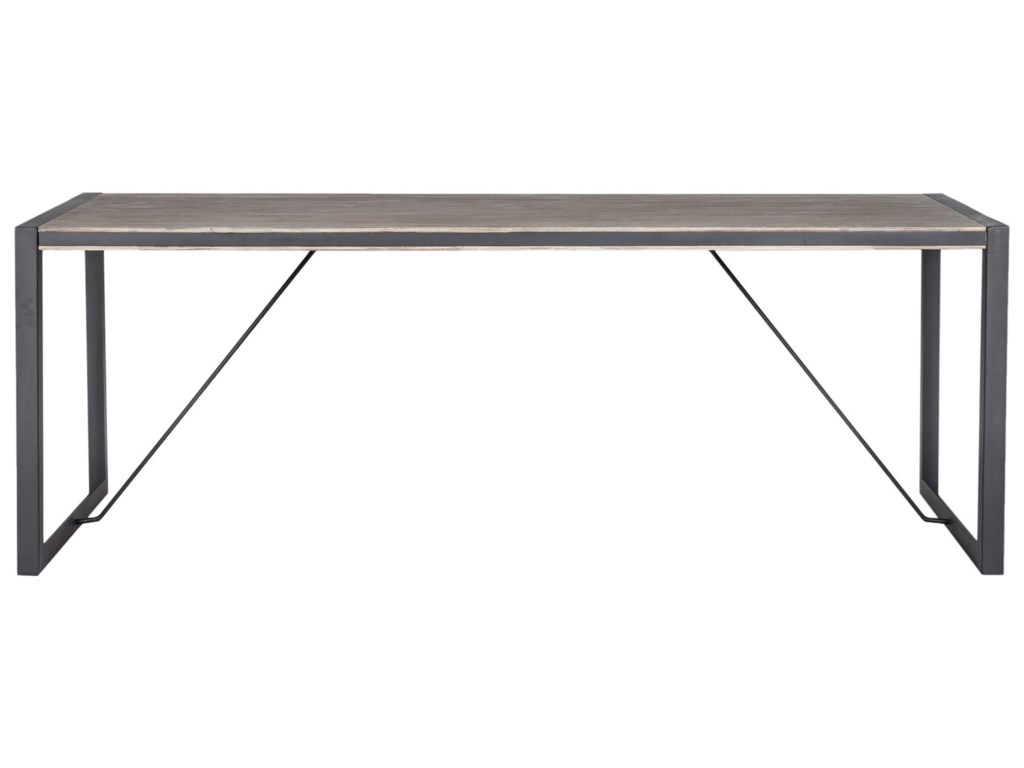 Moe's Home Collection BronxIndustrial Large Dining Table