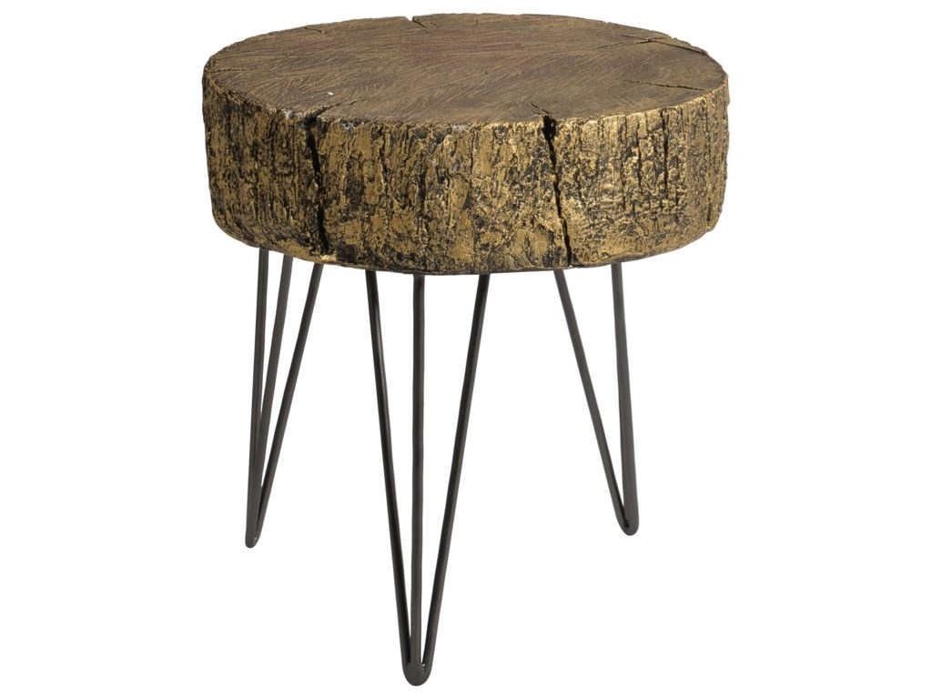 Moe's Home Collection CambriaRustic Metallic Accent Table