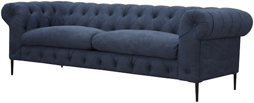 Moe's Home Collection Canal Tufted Chesterfield Sofa